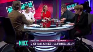 VIDEO  Luis Mesina de No+AFP dio cara ante los peyorativos ataques de Matías del Río y Consuelo Saavedra en 24 Horas