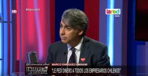 """VIDEO  La entrevista de Beatriz Sánchez donde ME-O reconoció que """"le pedí plata a todos los empresarios chilenos"""""""