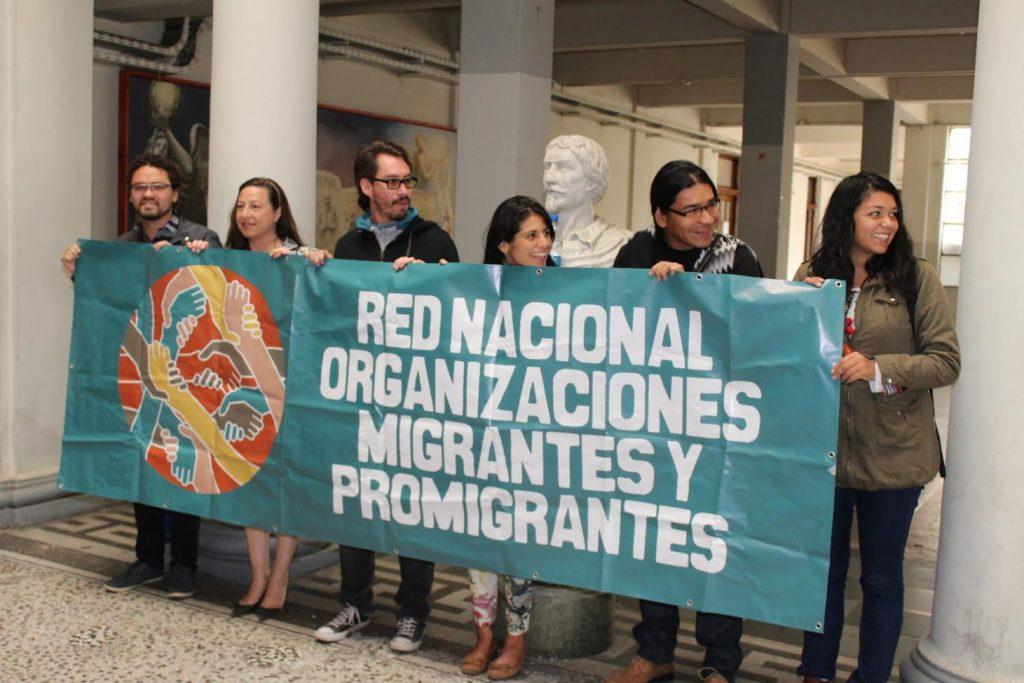 Red de Organizaciones Migrantes llama a votar por el Apruebo y rechaza Ley de Migraciones