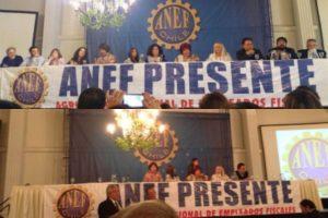 """Disidentes se retiran de votación de la Anef sobre la CUT: """"Cuando el árbitro está comprado es difícil ganar el partido"""""""