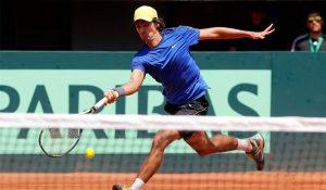 Julio Peralta sigue imparable y avanza a los octavos de final en dobles de Roland Garros