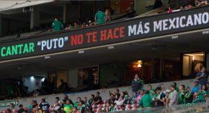 """FIFA advierte a México y Chile que serán sancionados si sus hinchadas gritan """"puto"""" al arquero rival cuando despeje"""