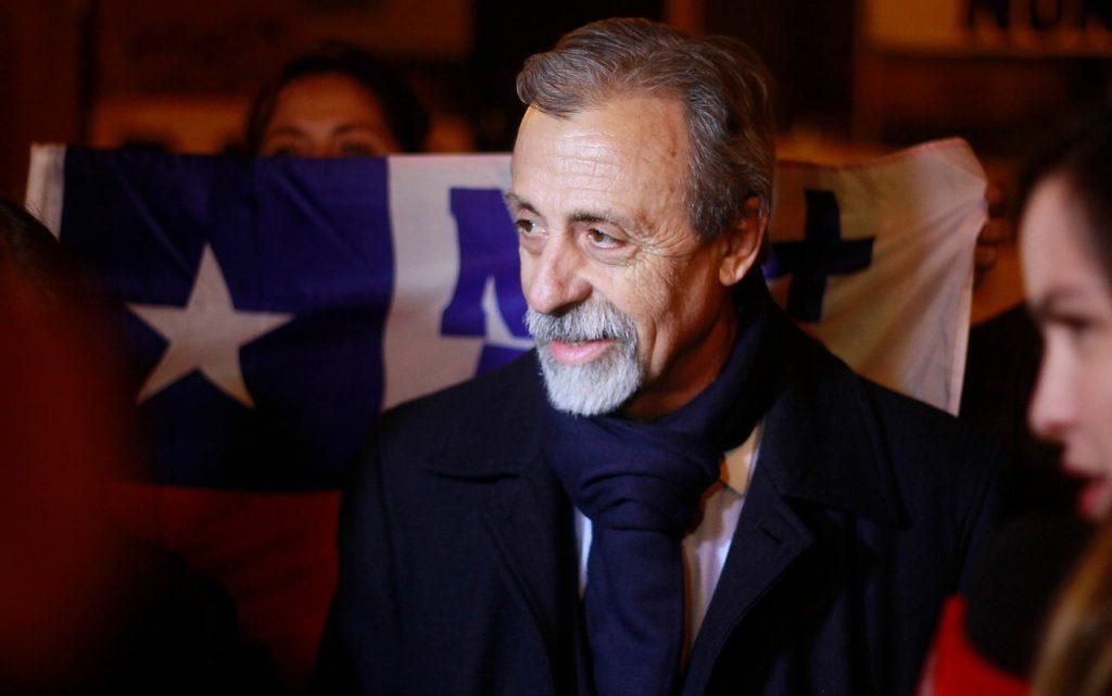 Luis Mesina anunció su candidatura a la Convención Constitucional