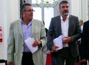 Senadores Fulvio Rossi (ex PS) y Jorge Pizarro (DC) serán formalizados por caso SQM