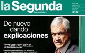 """REDES  Todas las reacciones al caso #PiñeraSQM: """"Cuánta será la truchería que ya ni La Segunda le presta ropa """""""