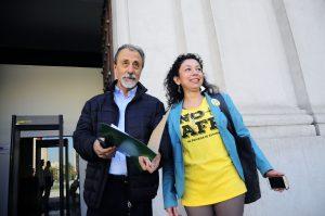 """Coordinadora No+AFP: """"No vamos a llamar a votar por Alejandro Guillier"""""""