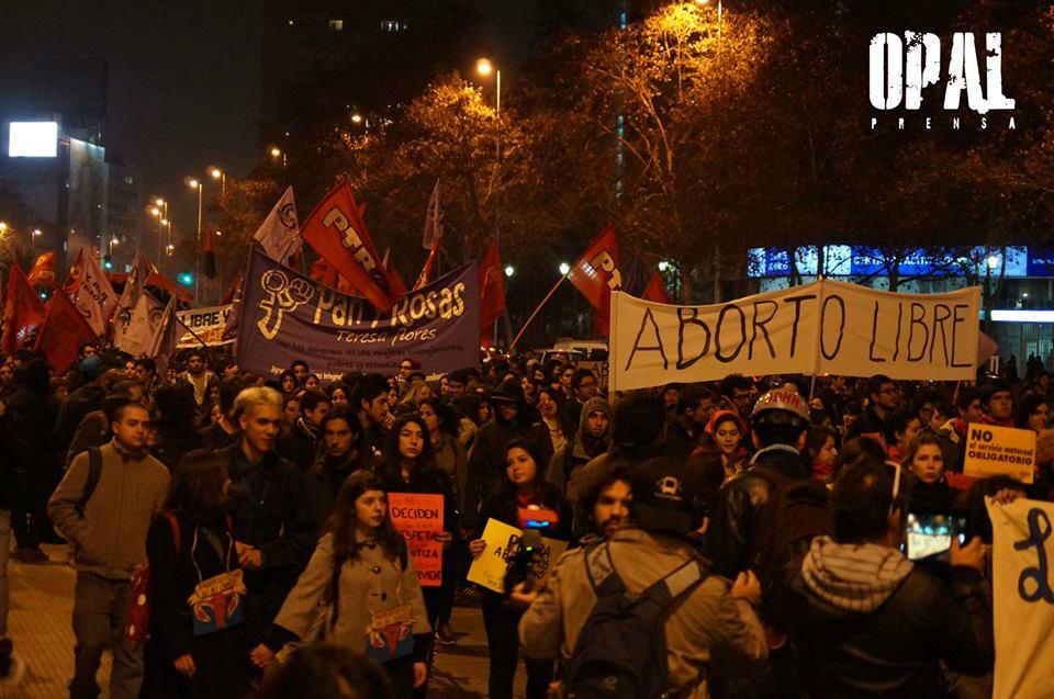 marcha aborto libre 2013