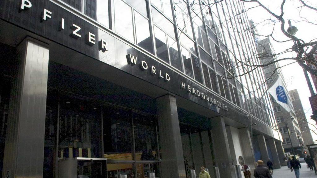 laboratorios Pfizer Nueva york