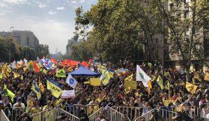 VIDEO  Con presencia de diputados del Frente Amplio y Partido Comunista se desarrolló una nueva marcha No + AFP