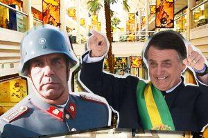 El patetismo de Checho Hirane que se arrodilla ante Bolsonaro