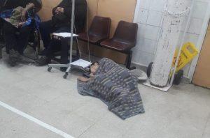 Imágenes dan cuenta del colapso y precarias condiciones en Hospital San José de Santiago