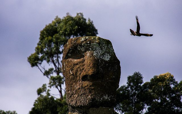 Estudio arqueológico revela cómo se producía pigmento en Rapa Nui entre los años 1.200 y 1.650