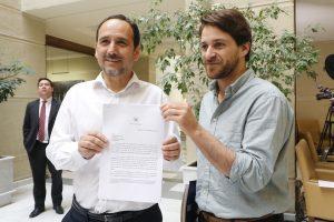 """Núñez y Winter por comisión que indagará dineros a paraísos fiscales de la familia Piñera Morel: """"Lo vamos a citar a declarar a él y a sus hijos"""""""