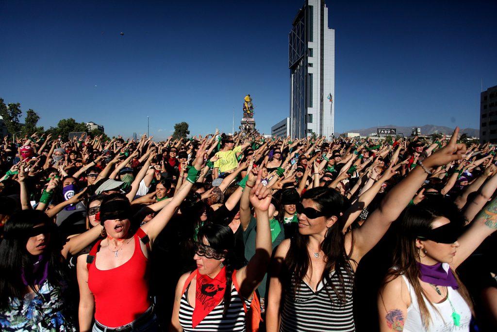 18 de octubre: voces feministas y disidentes en la ocupación de la ciudad