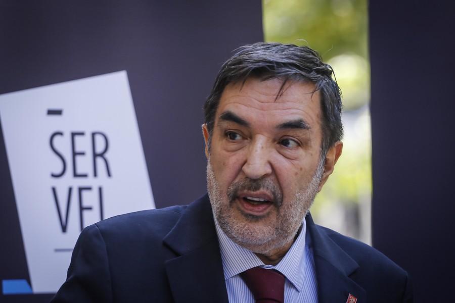 Patricio Santamaría, presidente del Servel / Agencia Uno