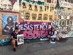 A un año de la agresión: Carolina Torres juega una pichanga feminista en la Plaza de la dignidad