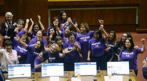 INFOGRAFÍA  Paridad en política: Sólo un 22% de la Cámara de Diputadas y Diputados son mujeres