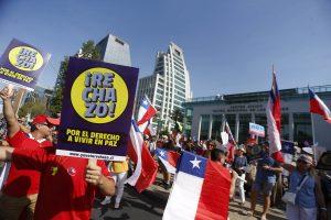 """Un infiltrado en """"La Vanguardia"""" de la marcha por el Rechazo"""