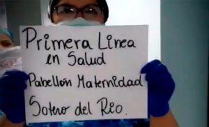 Homenaje a las y los trabajadores de la Salud Pública que enfrentan al coronavirus