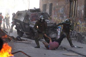Chile hoy es esto: masacrar a un adulto mayor en el nombre del Estado