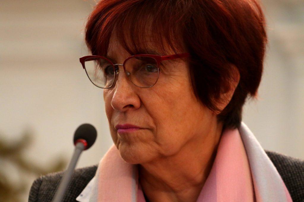 """""""Su presidente está imputado"""": Carmen Hertz rebate dichos de Luck sobre presos del 18-O"""