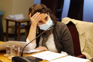 Desgaste personal tiene a la ministra Zaldívar considerando la posibilidad de abandonar el gabinete