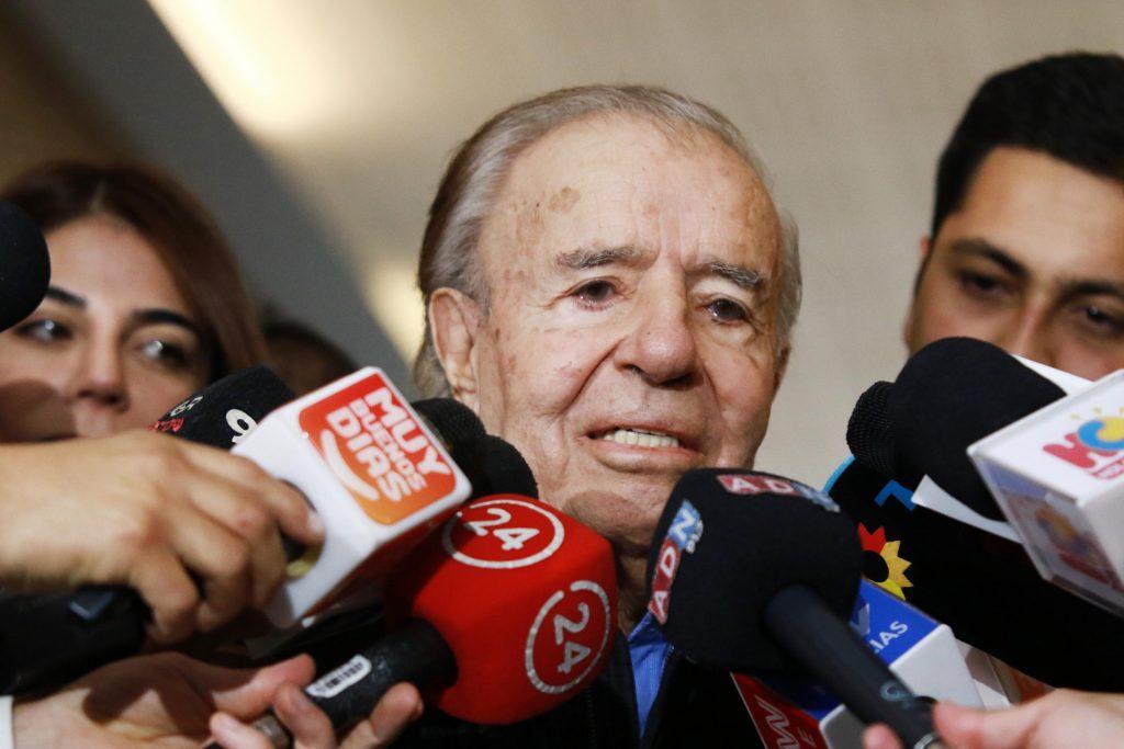Tras diagnóstico positivo de Zulemita: Realizan test de COVID-19 a Carlos Menem