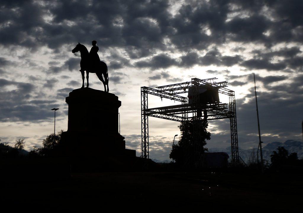 Monumentos incómodos en el nuevo Chile