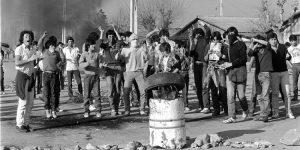 VIDEOS| 34 años después: Pese a la cuarentena, manifestaciones se toman la capital rememorando las históricas protestas del 2 y 3 de julio de 1986