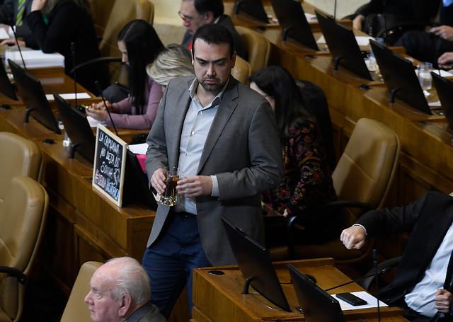 """Diputado Karim Bianchi promueve inhabilitar a Piñera: """"Ha encendido los botones de alarma de un nuevo estallido social"""""""