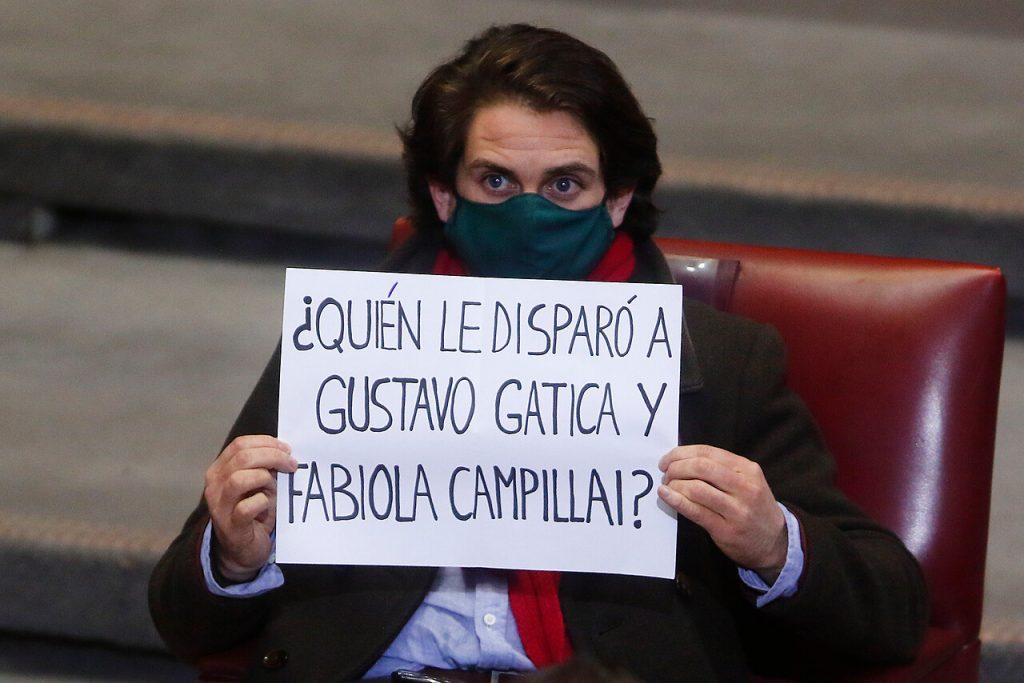 «¿Quién le disparó a Gustavo Gatica y Fabiola Campillai?»: Winter alude a víctimas del estallido durante Cuenta Pública
