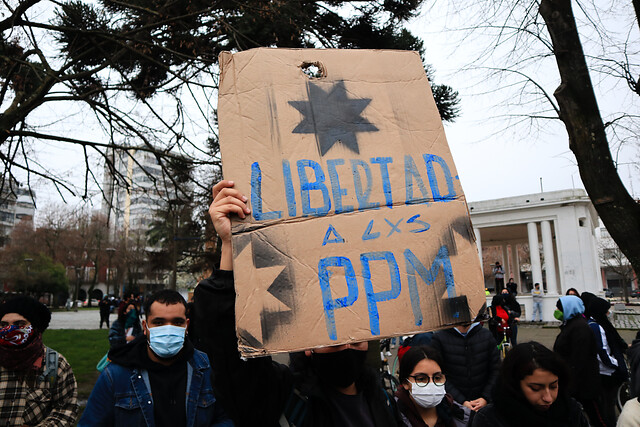 Prisioneros Políticos Mapuche de la cárcel de Angol inician huelga seca tras 94 días de protesta
