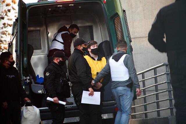 Trasladan a Hernán Calderón Argandoña hasta la cárcel Santiago 1