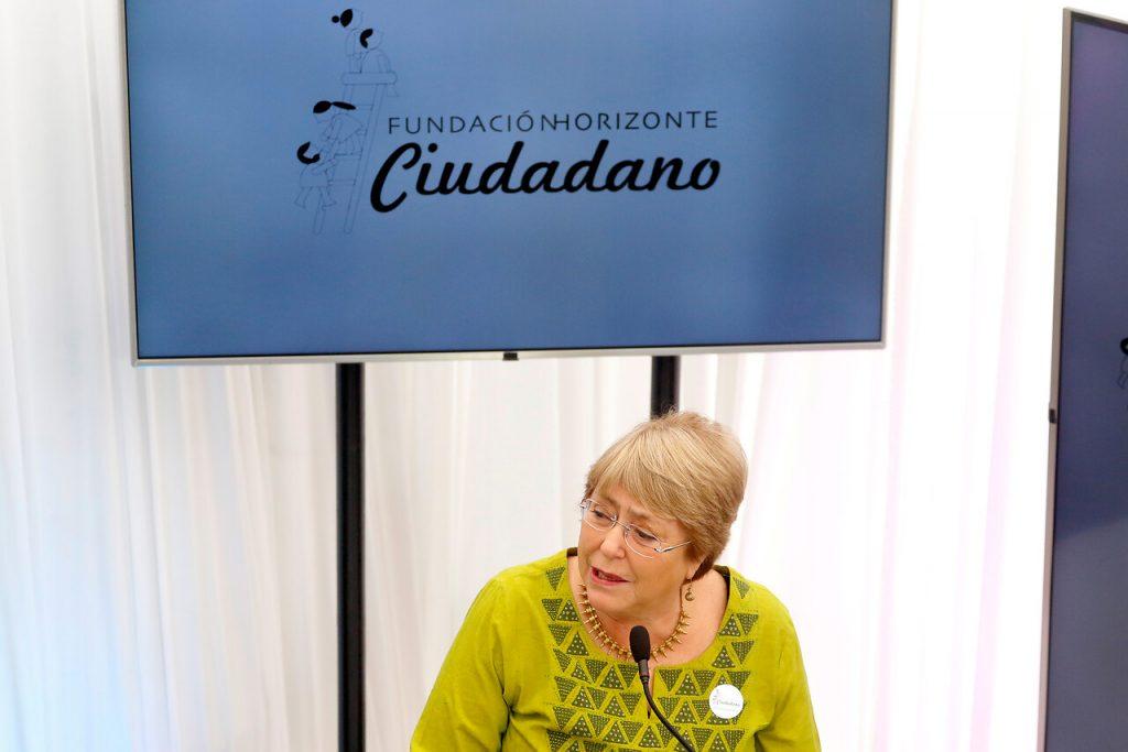 Fundación de Bachelet trabaja por reformas a Carabineros e impulsar el Plebiscito Constitucional