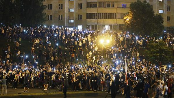 Michelle Bachelet condena la violencia policial durante las protestas pacíficas en Bielorrusia