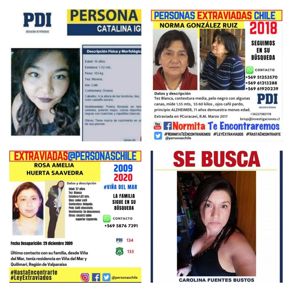 Mujeres desaparecidas en Chile: Los protocolos ineficientes que dejan búsquedas sin resultados