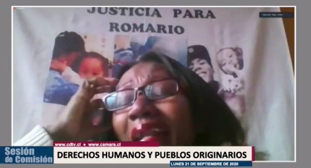 VIDEO| Madre de Romario Veloz emplaza a Desbordes: «A mi hijo me lo quitó un militar, y ese militar tiene que aparecer»