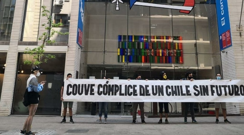 «Couve cómplice de un Chile sin futuro»: Investigadores se manifiestan frente a la ANID ante el abandono del gobierno y el Ministerio de Ciencia