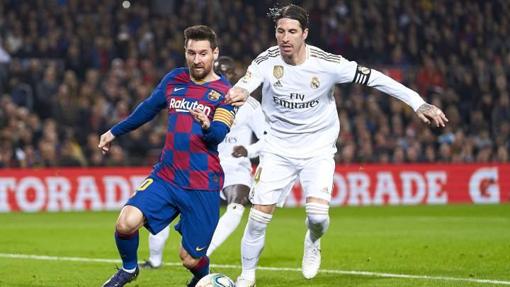 Precaución atmósfera Disparidad  Barcelona vs. Real Madrid: ¿A qué hora juegan y en qué canal se puede seguir