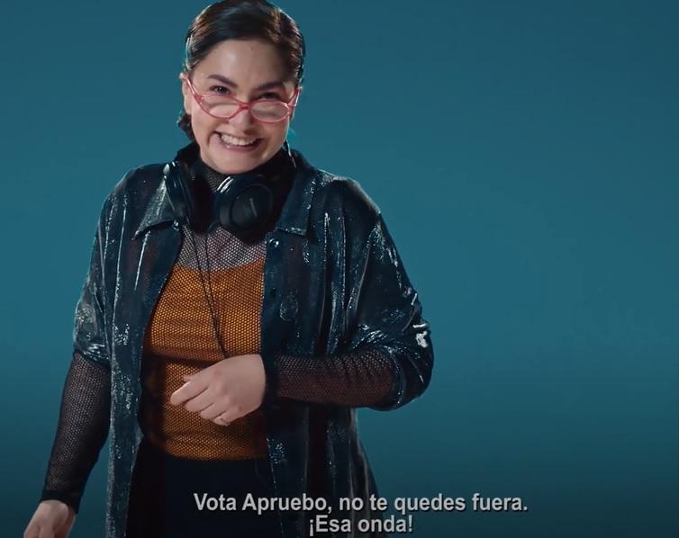 Plebiscito por una Nueva Constitución: Capítulo 25 de la franja social de Apruebo Chile Digno