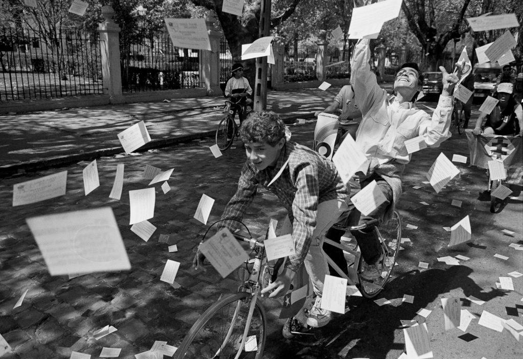 FOTO  El plebiscito de 1988 por Álvaro Hoppe: «Fue un privilegio estar ahí»