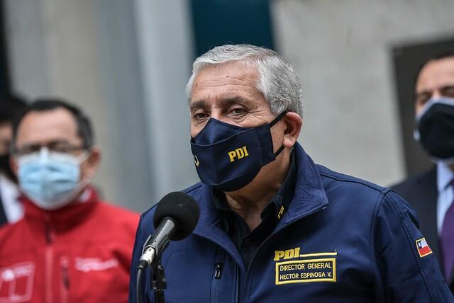 Director de la PDI: «Tenemos armas letales y las vamos a usar en defensa de nuestro personal»