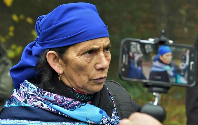Machi Francisca Linconao denuncia que le impidieron votar en el Plebiscito