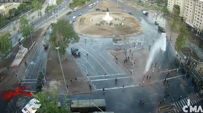 Último viernes de octubre: Sigue en vivo las manifestaciones de Plaza de la Dignidad