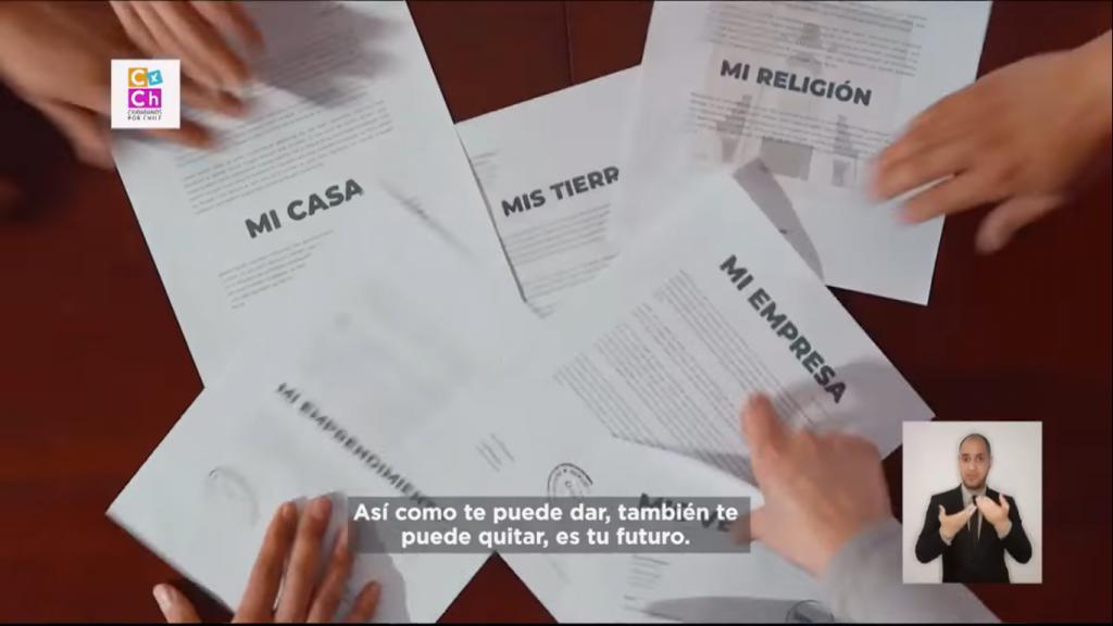 Fact checking ED: Franja del Rechazo miente al afirmar que la nueva Constitución puede afectar «la propiedad privada»
