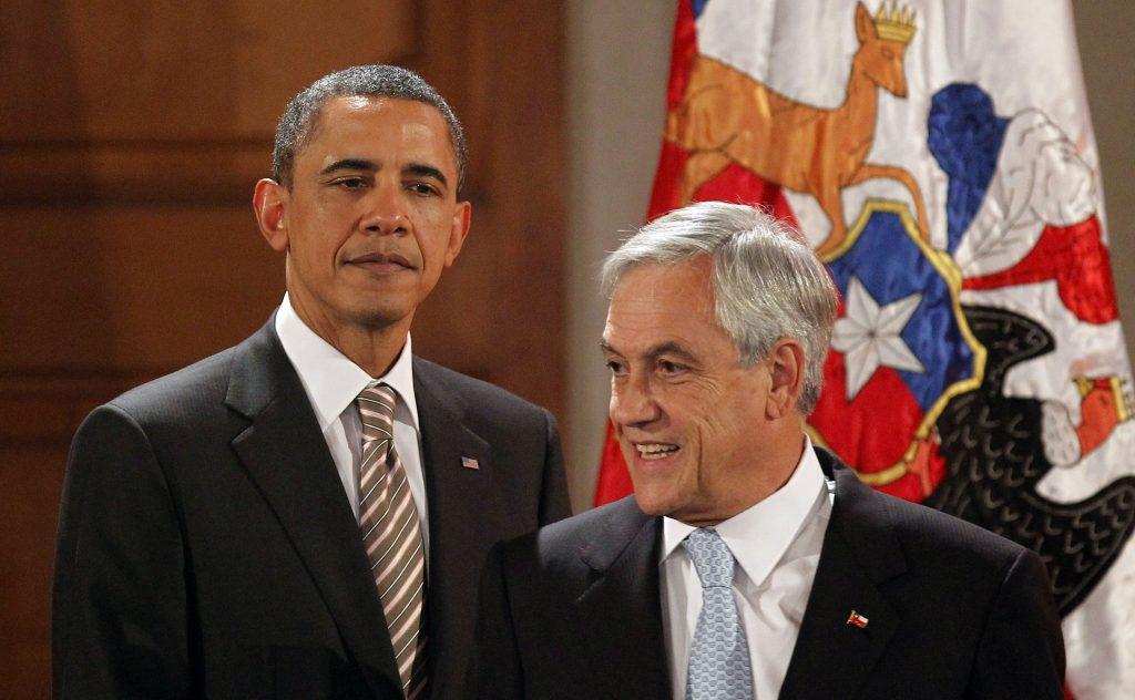 """""""Un extrovertido multimillonario de centroderecha"""": Obama describe a Piñera en sus memorias"""