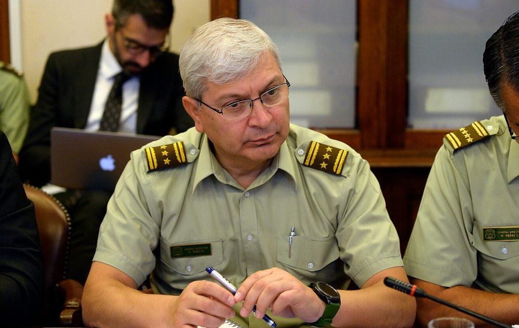 """Ricardo Yáñez, general director de Carabineros: """"Debemos hacer un mea culpa, sin lugar a dudas"""""""