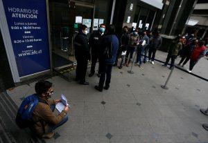 Desempleo en el país tiene una leve baja, pero sigue sobre dos dígitos en plena pandemia