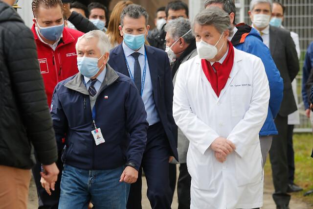 Director del Servicio de Salud de Concepción se encuentra en estado grave y conectado a ventilación por cuadro de COVID-19