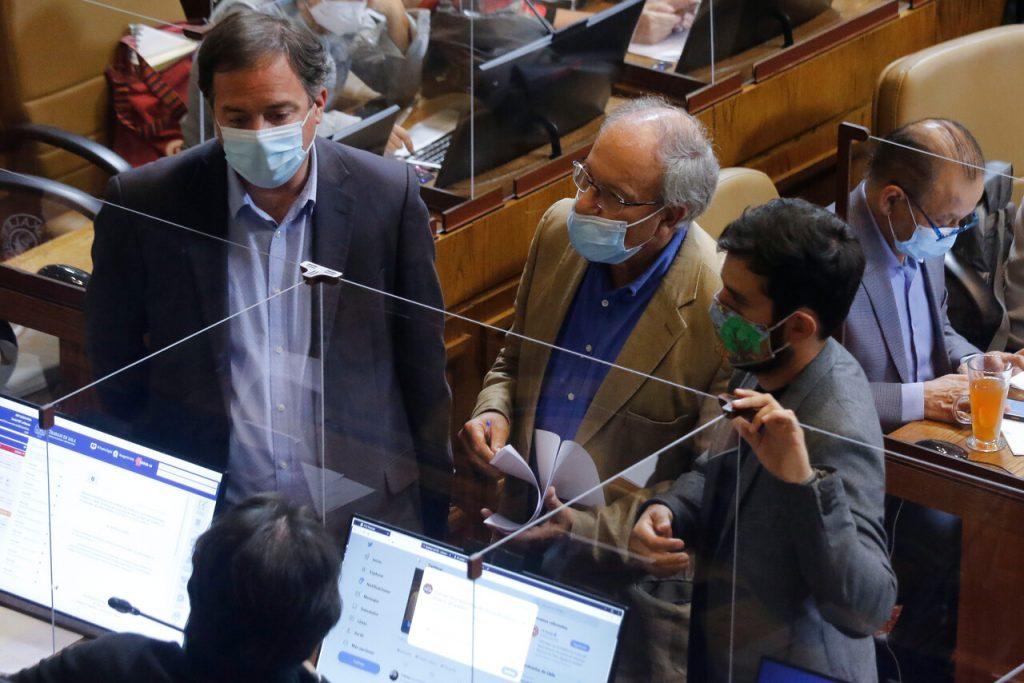 """Parlamentarios declaran como """"insostenible"""" el requerimiento del gobierno ante el TC"""